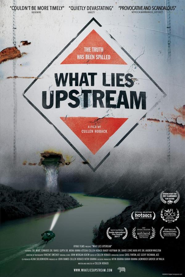 What Lies Upstream kapak