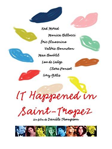 It Happened in Saint-Tropez kapak