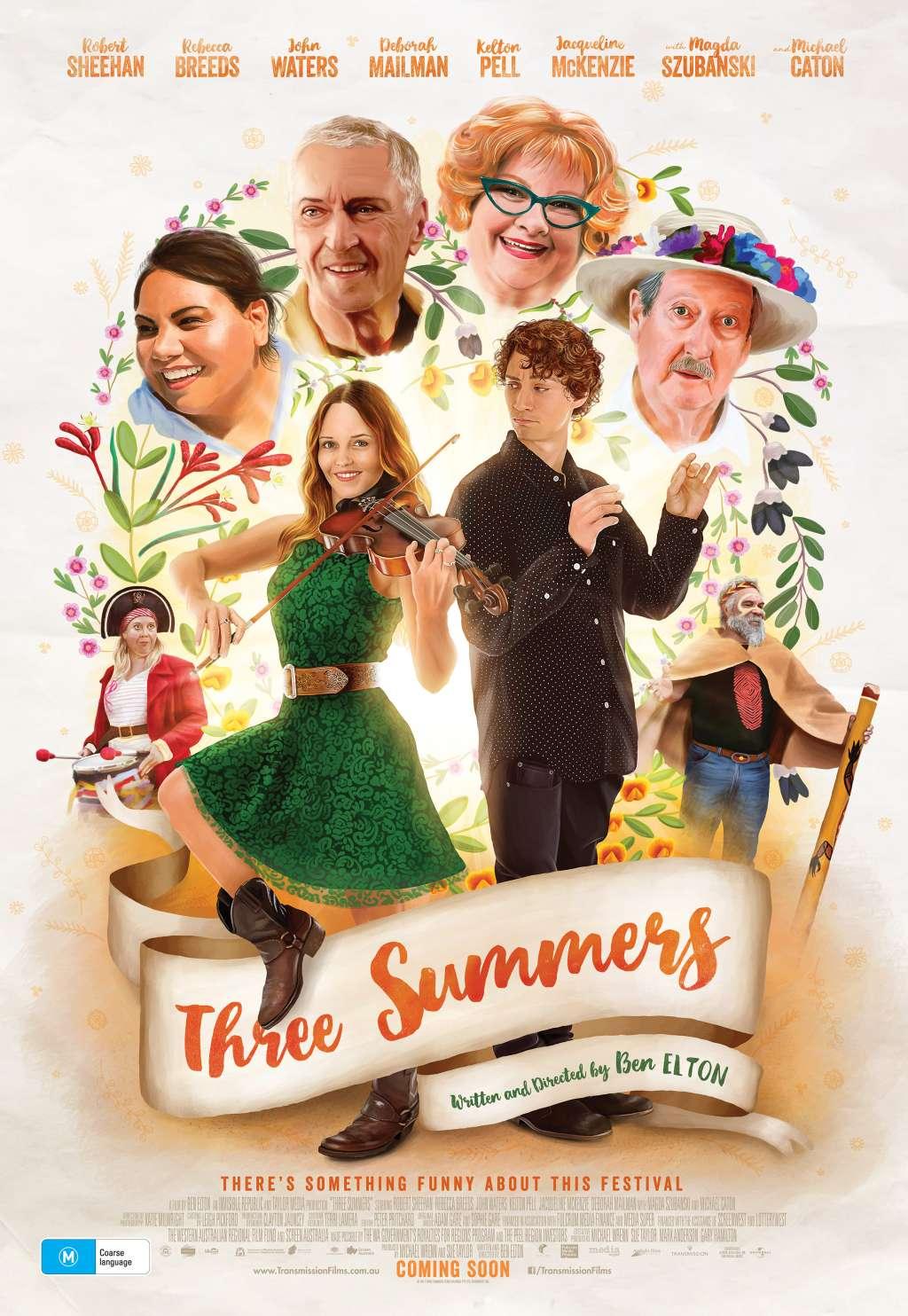 Three Summers kapak