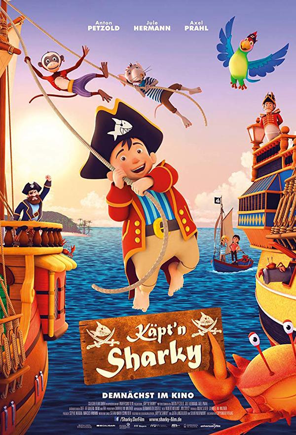 Capt'n Sharky kapak
