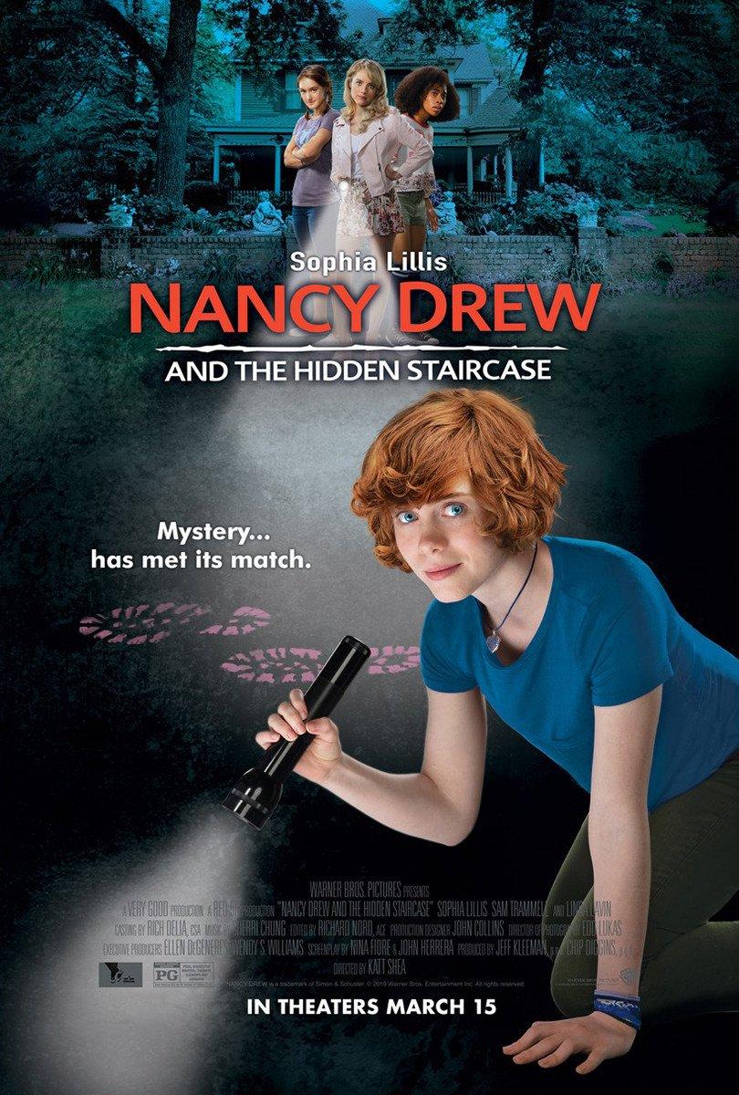 Nancy Drew and the Hidden Staircase kapak
