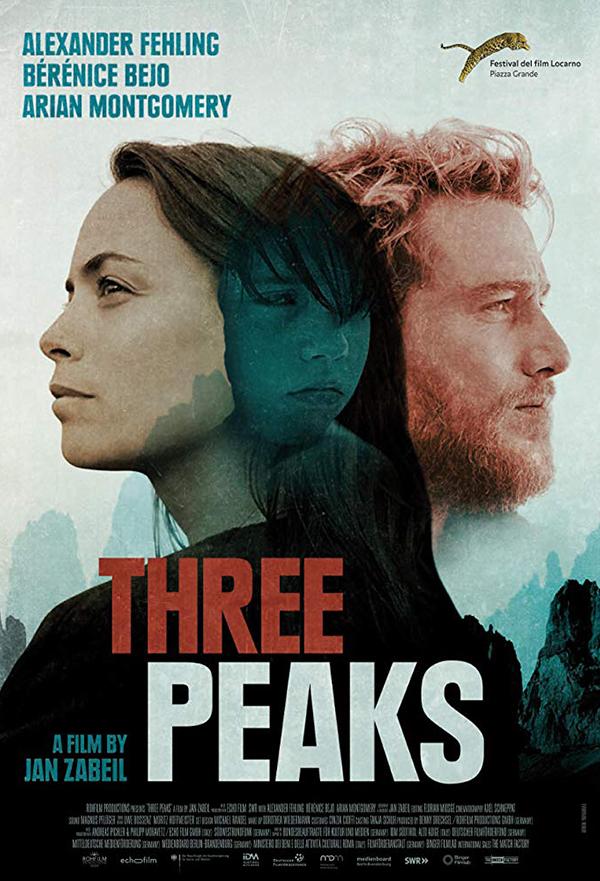 Three Peaks kapak