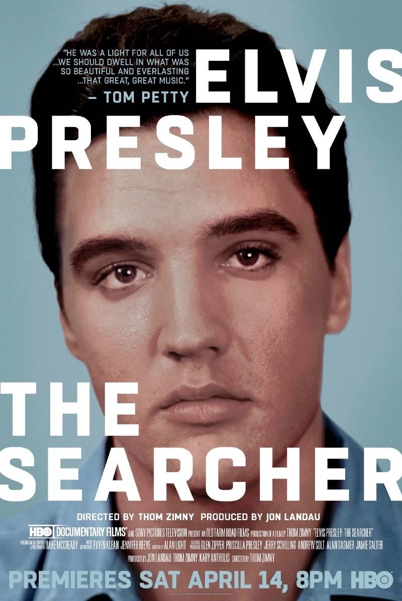 Elvis Presley: The Searcher kapak