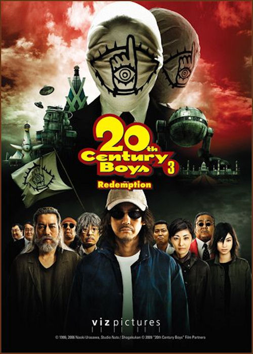 20th Century Boys 3: Redemption kapak