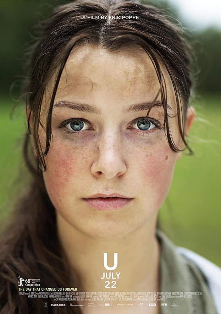 Utøya: July 22 kapak