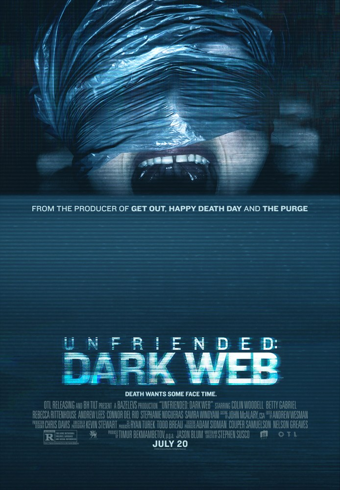 Unfriended: Dark Web kapak