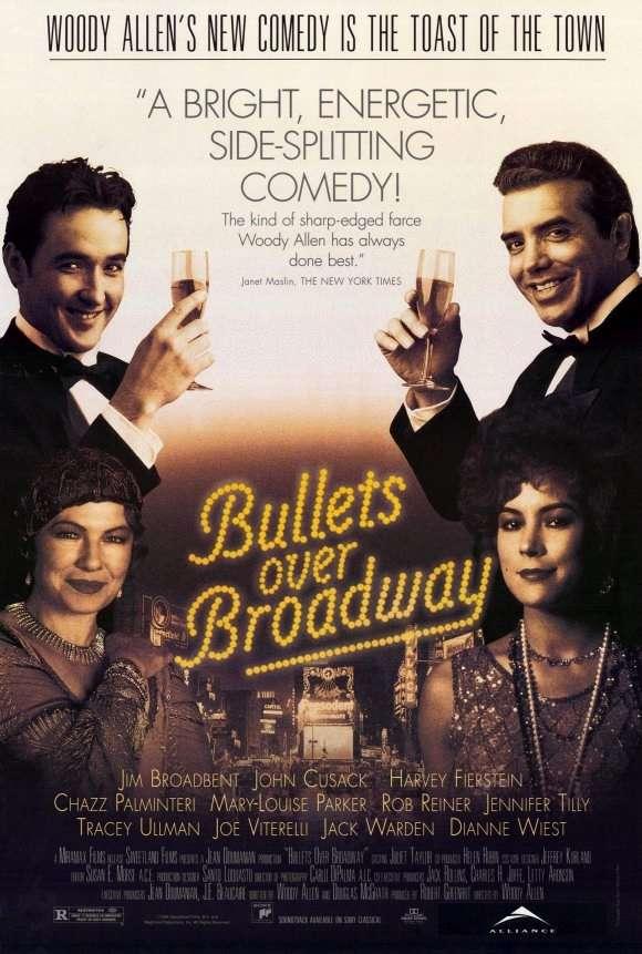 Bullets Over Broadway kapak