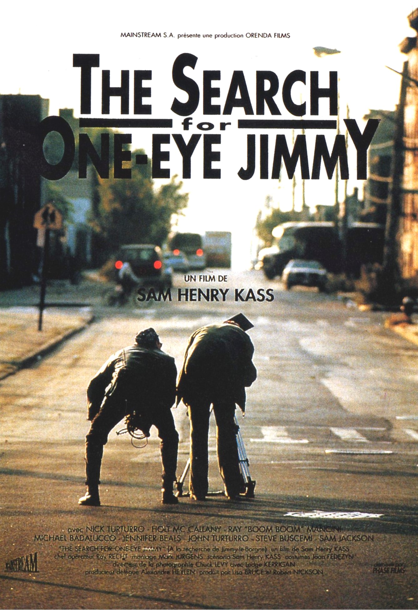 The Search for One-eye Jimmy kapak
