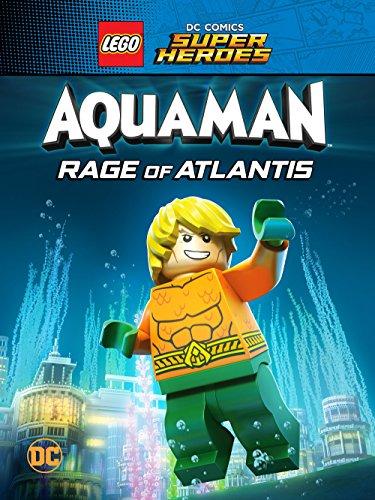 LEGO DC Comics Super Heroes: Aquaman - Rage of Atlantis kapak