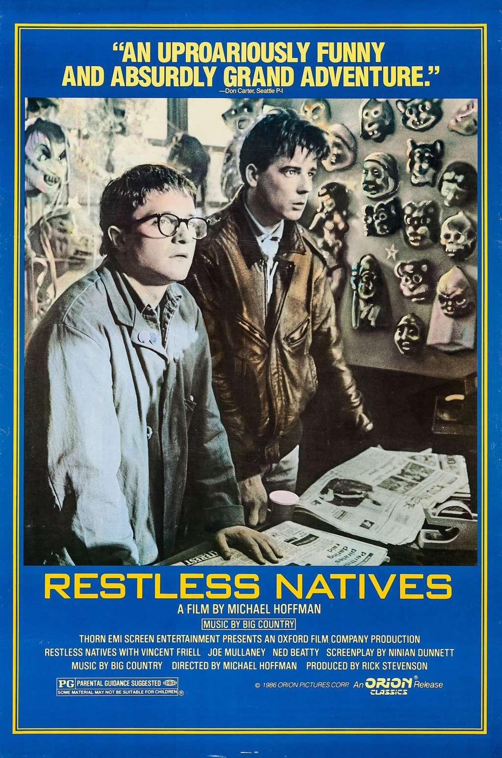 Restless Natives kapak