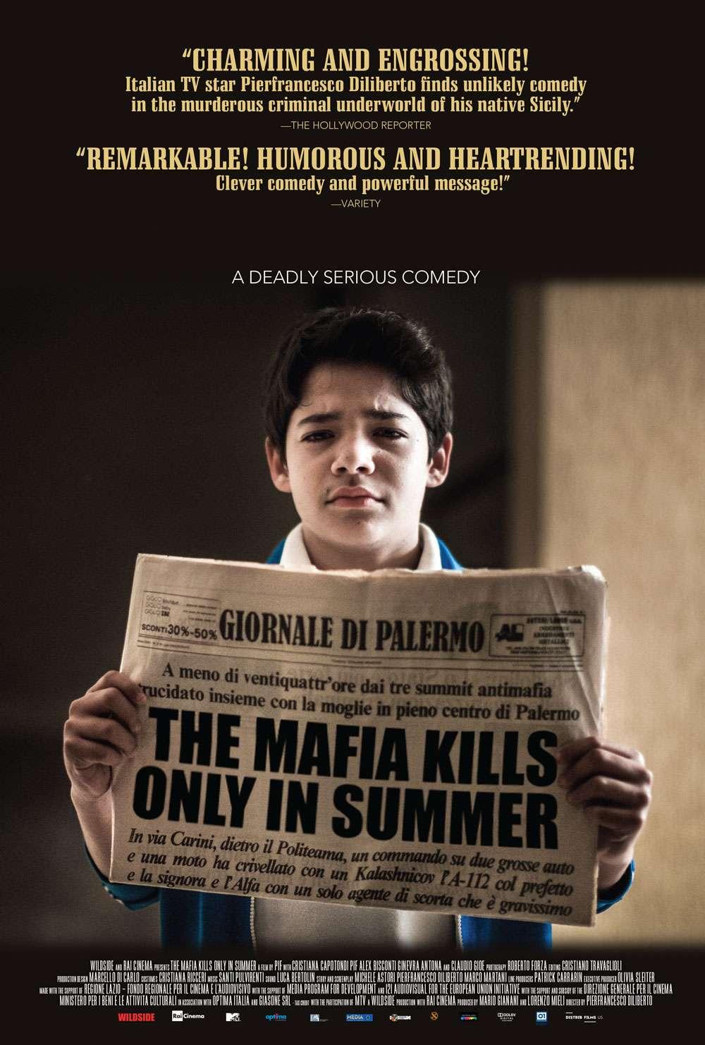The Mafia Kills Only in Summer kapak