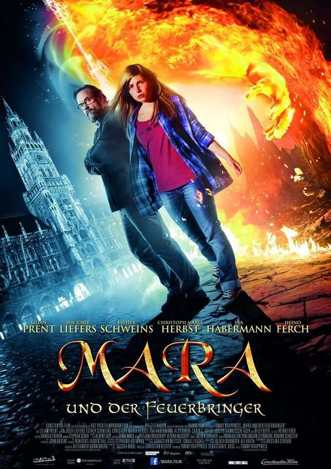 Mara and the Firebringer kapak