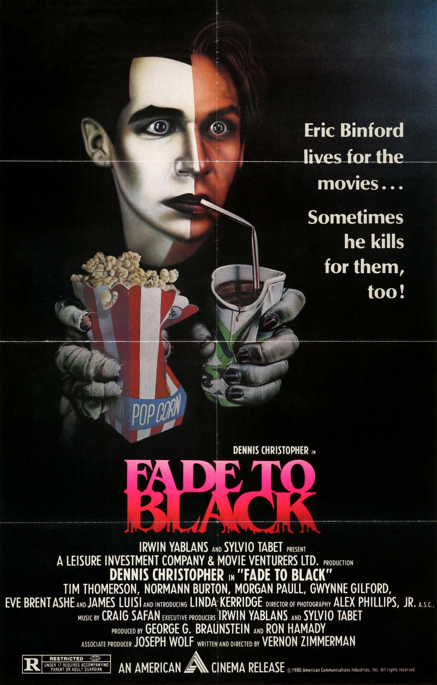 Fade to Black kapak