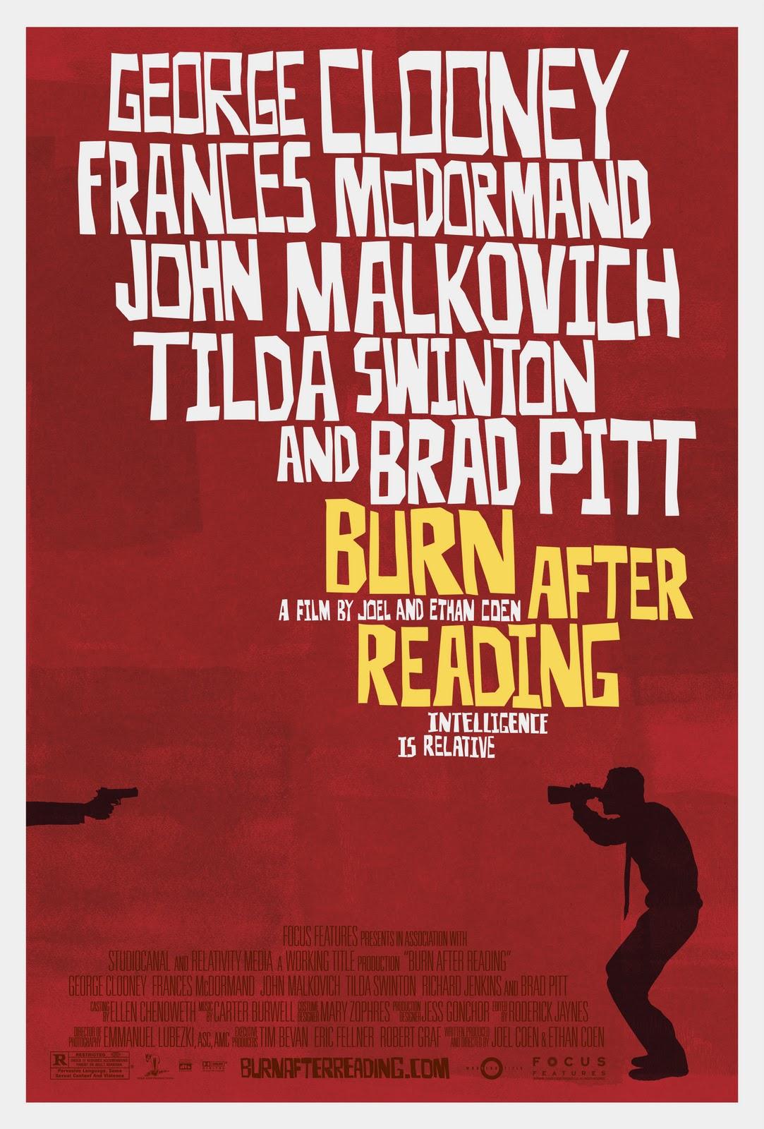 Burn After Reading kapak