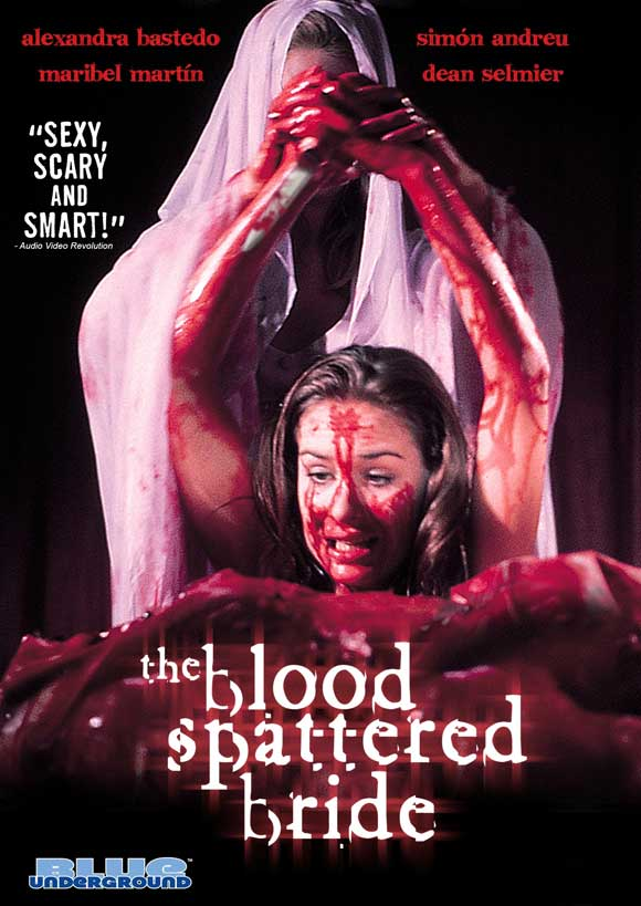 The Blood Spattered Bride kapak