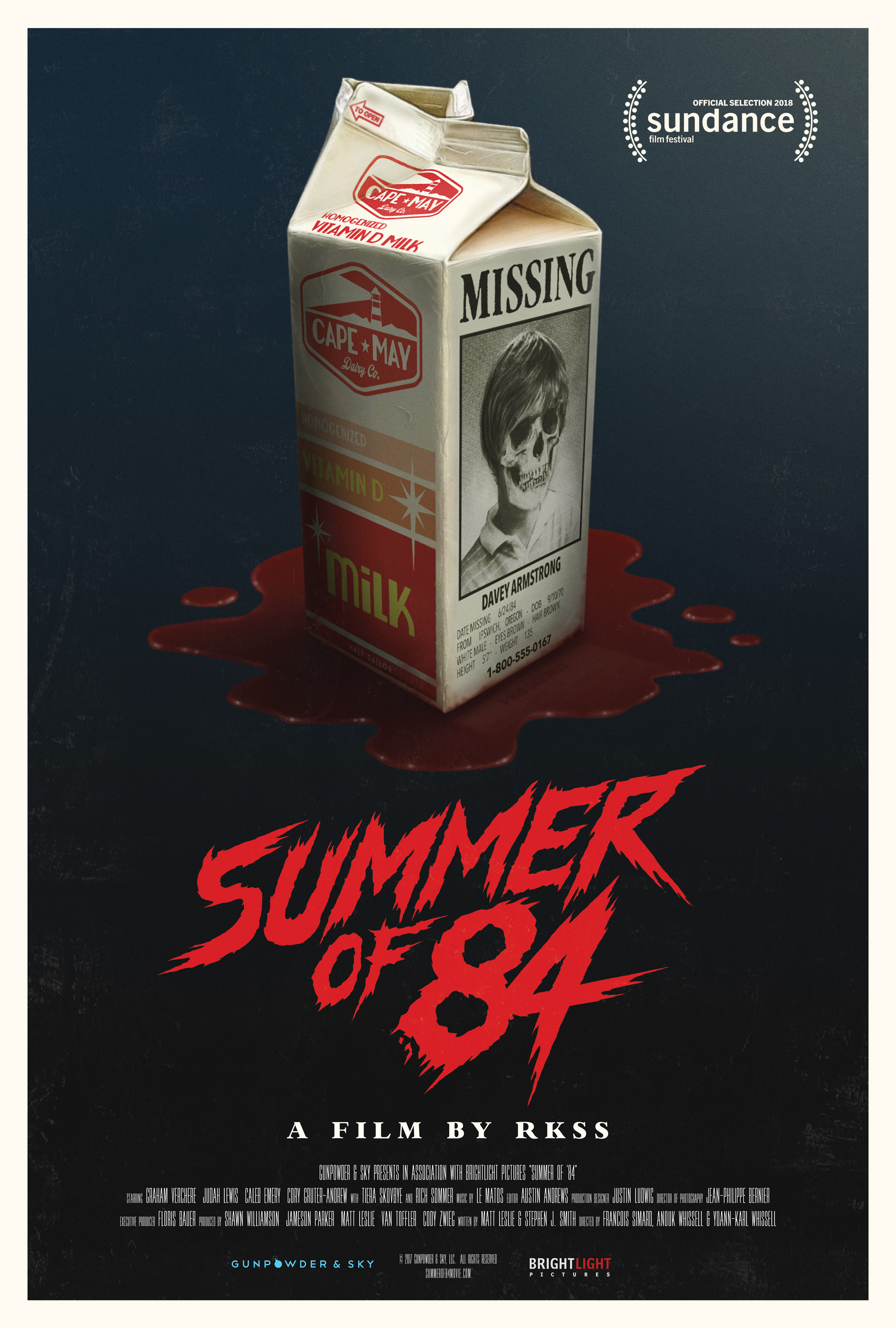 Summer of 84 kapak