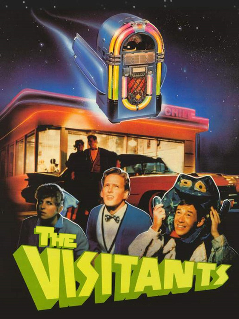 The Visitants kapak