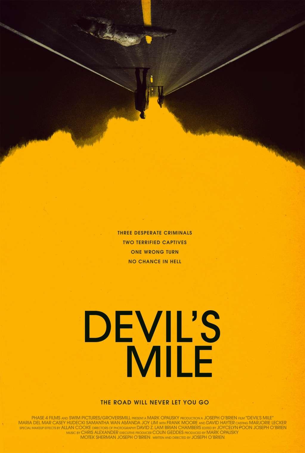 Devil's Mile kapak