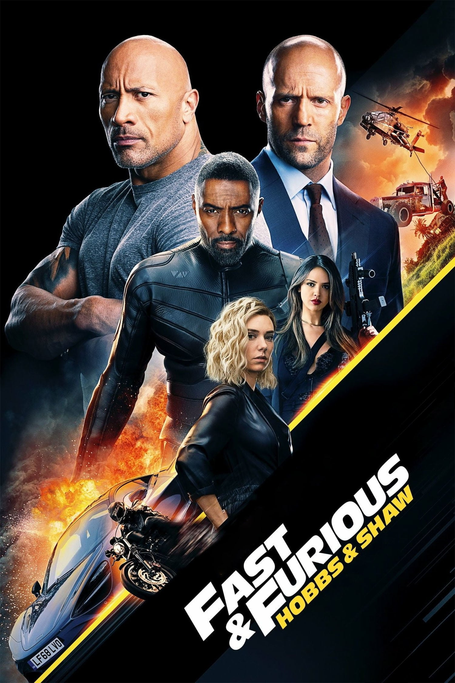 Fast & Furious Presents: Hobbs & Shaw kapak