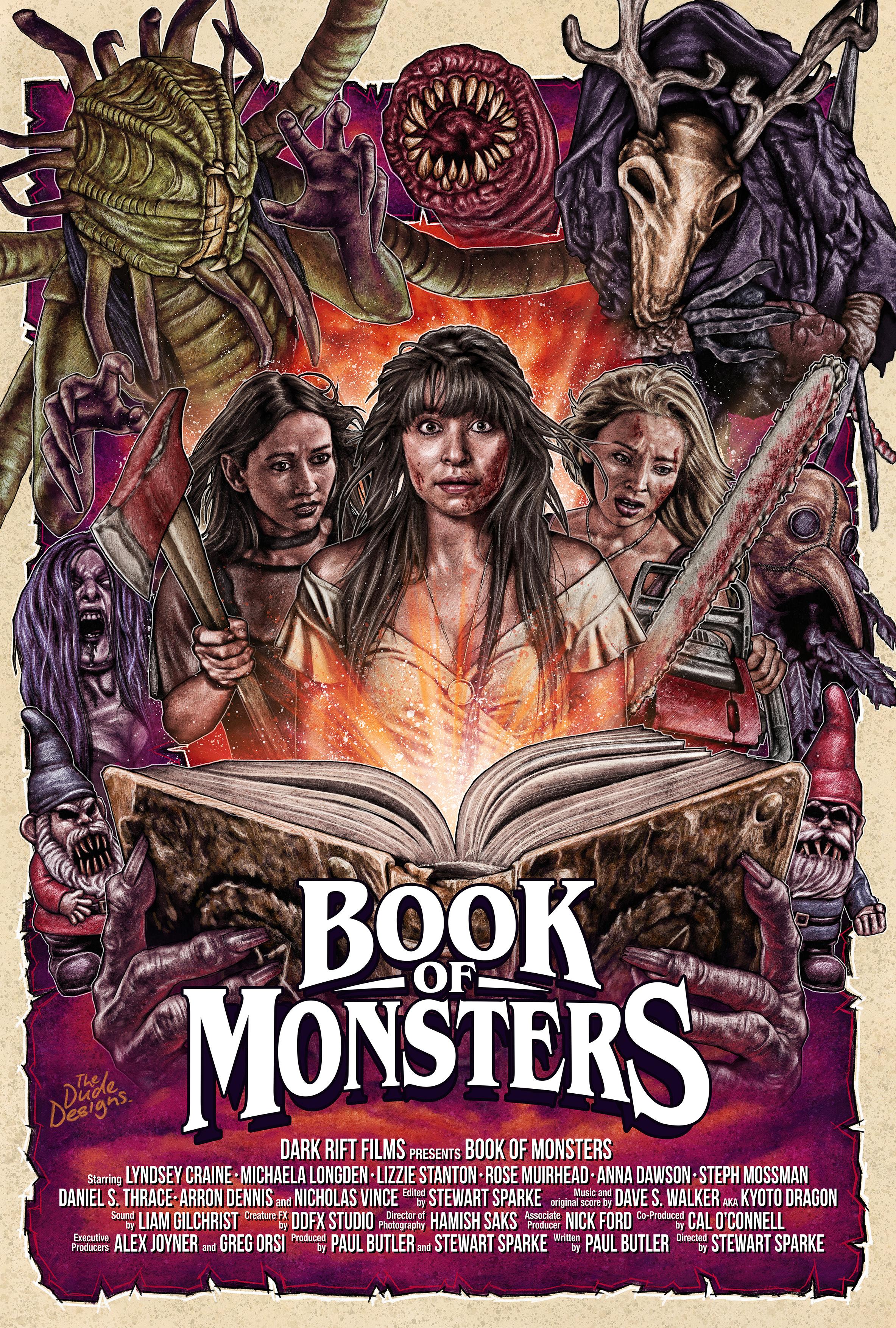 Book of Monsters kapak