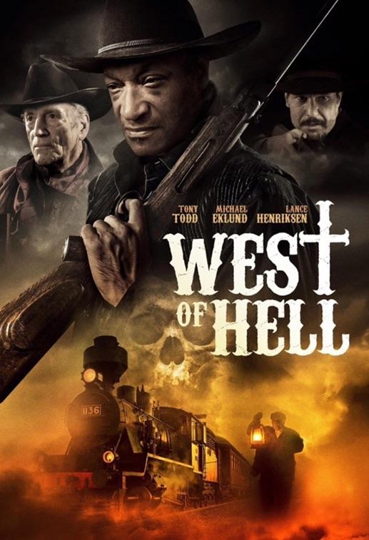 West of Hell kapak