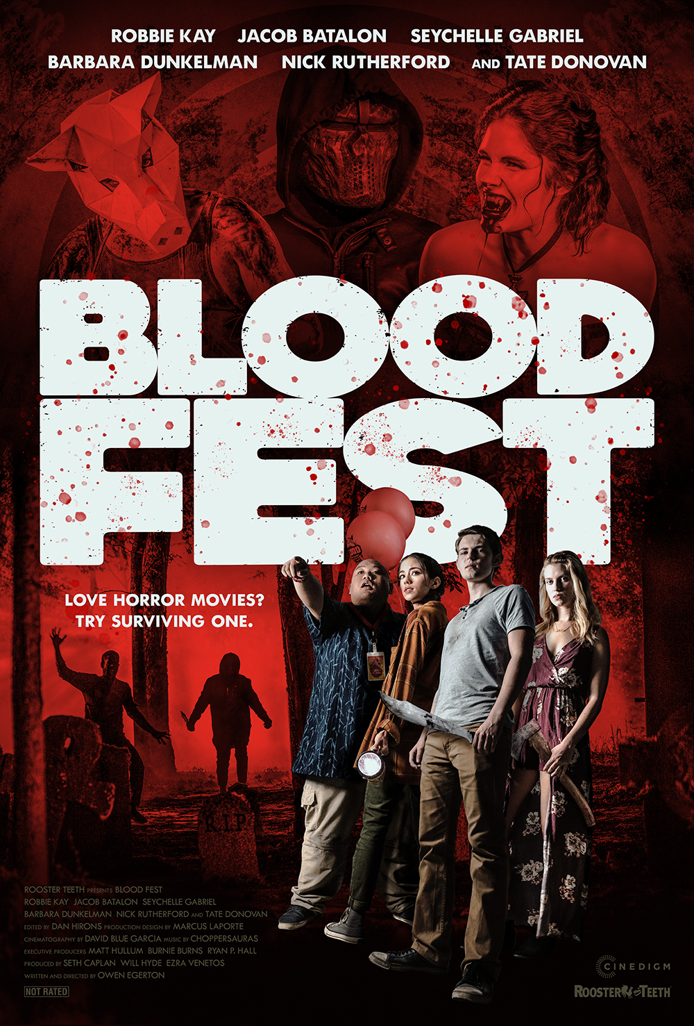 Blood Fest kapak