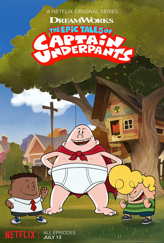 The Epic Tales of Captain Underpants kapak
