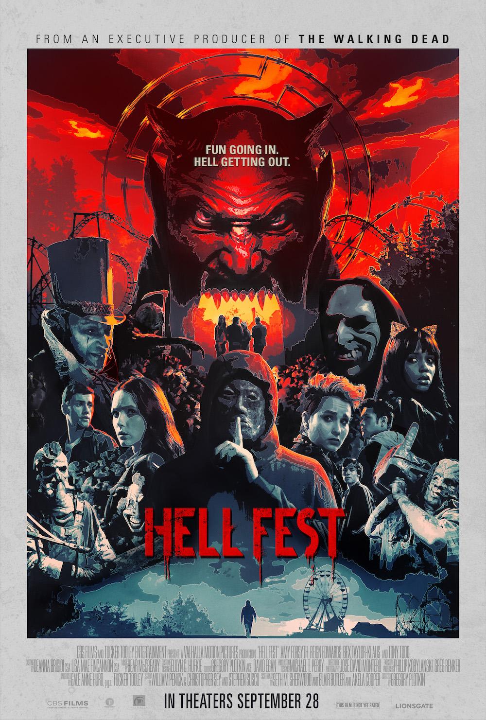Hell Fest kapak