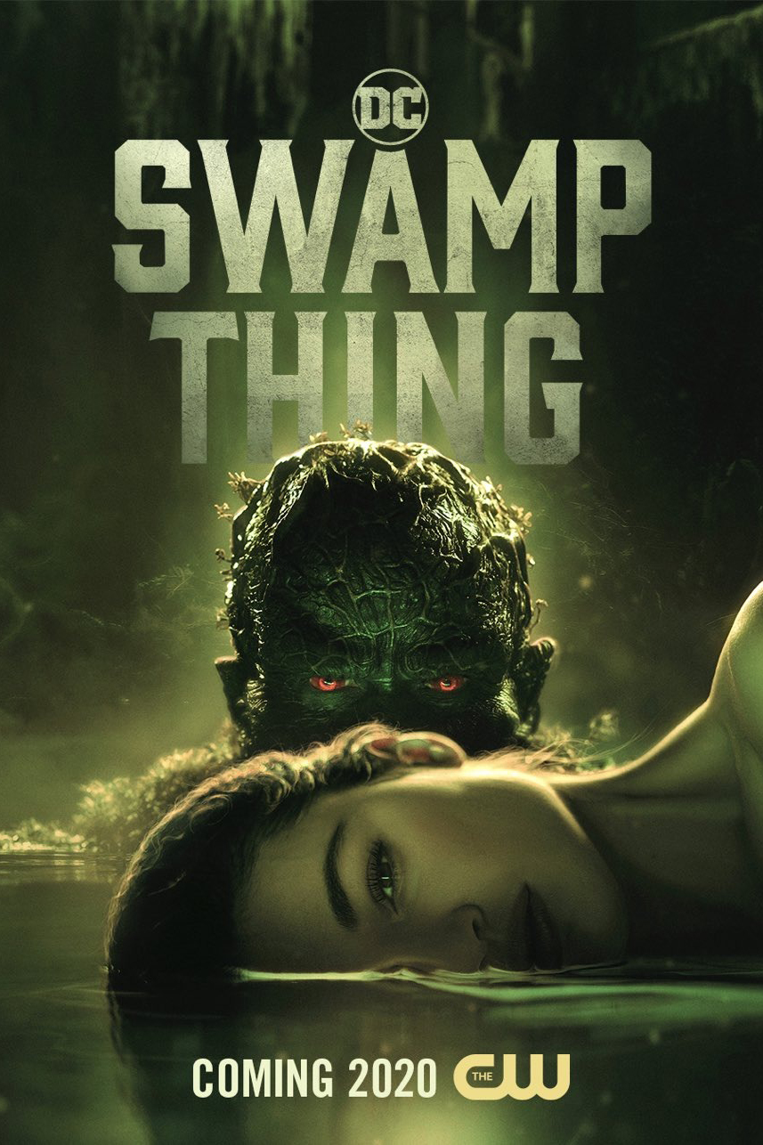 Swamp Thing kapak