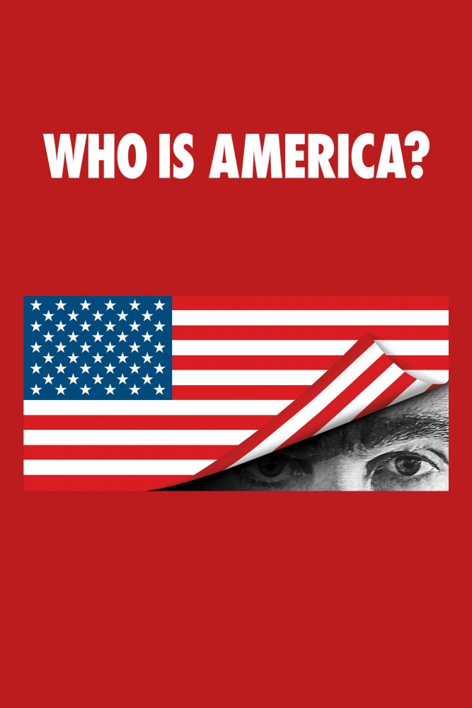 Who Is America? kapak