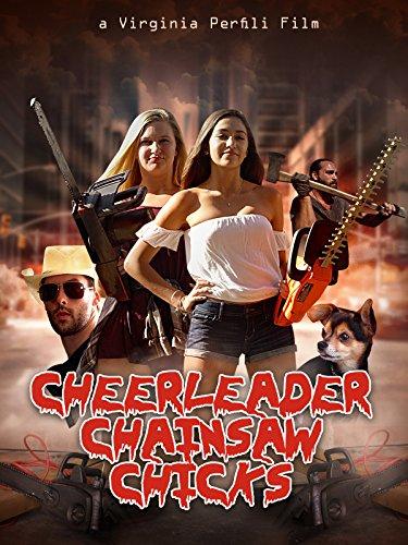 Cheerleader Chainsaw Chicks kapak