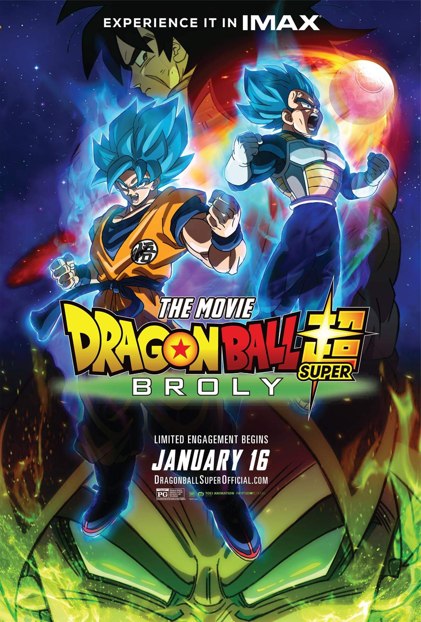 Dragon Ball Super Movie: Broly kapak