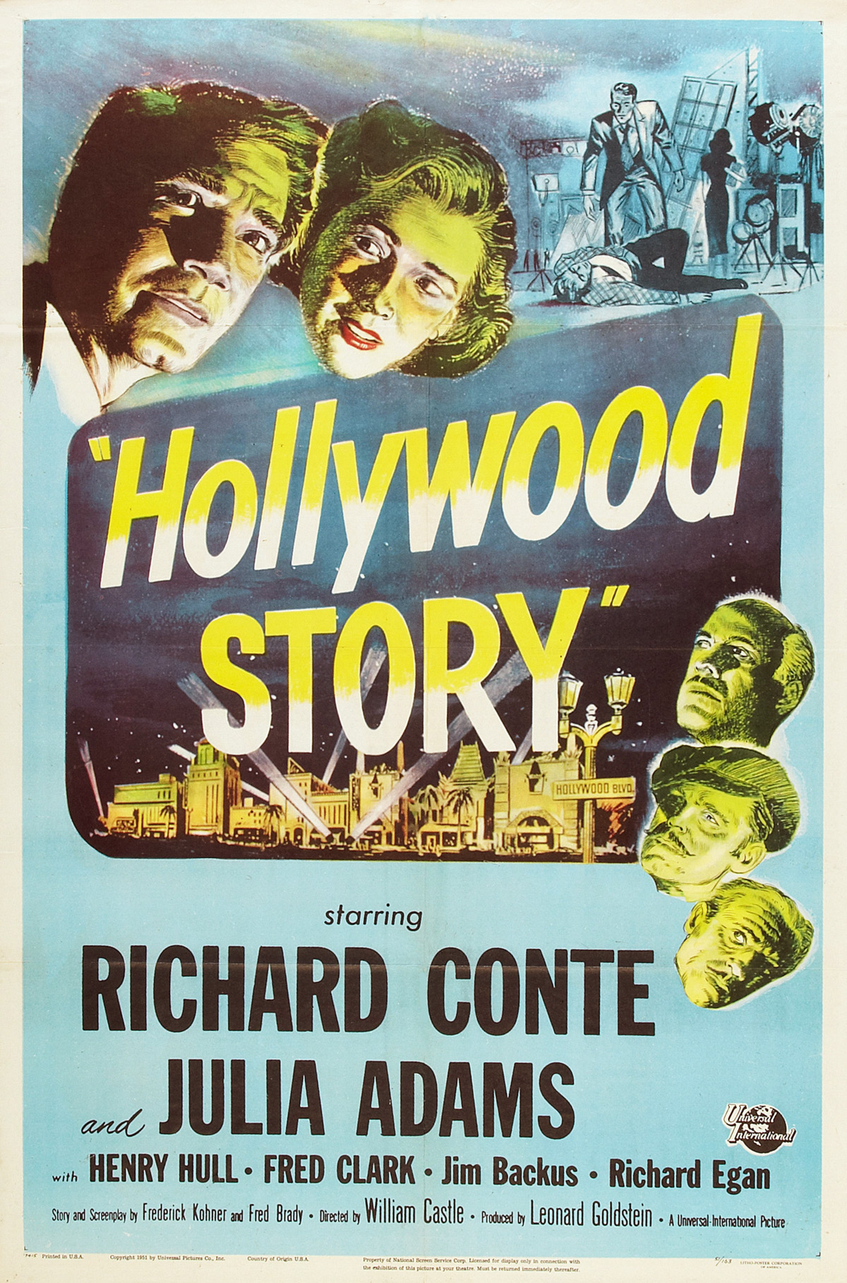Hollywood Story kapak