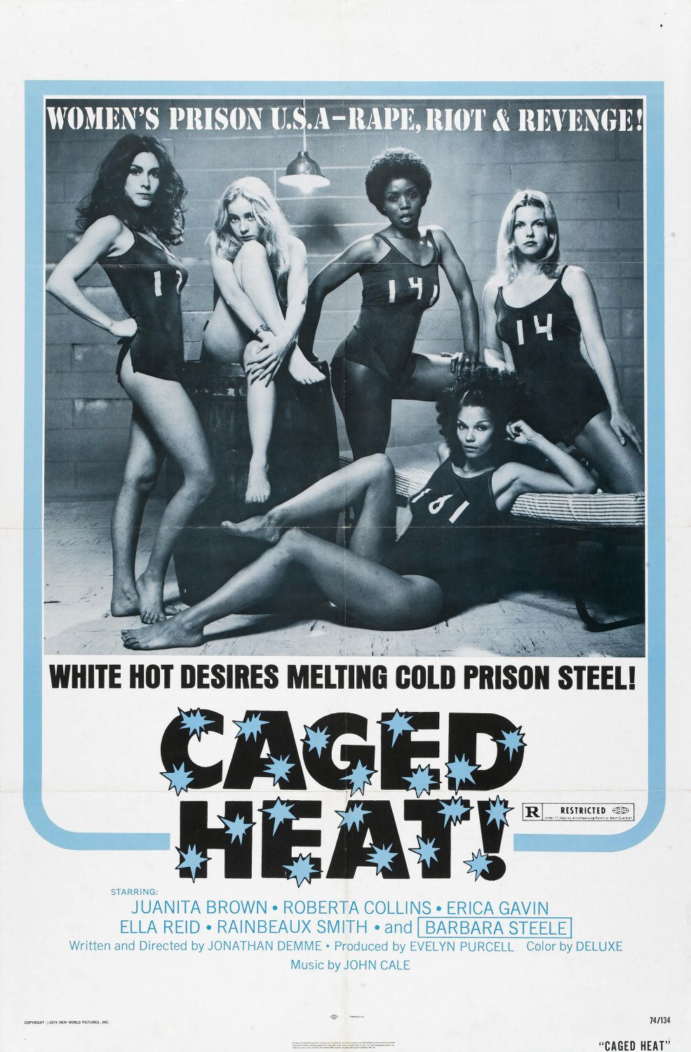 Caged Heat kapak