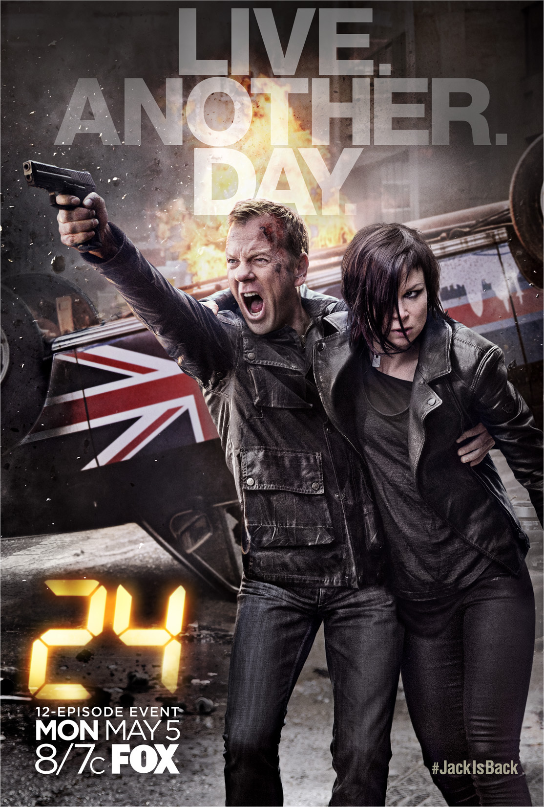 24: Live Another Day kapak