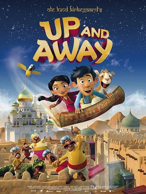 Up and Away kapak