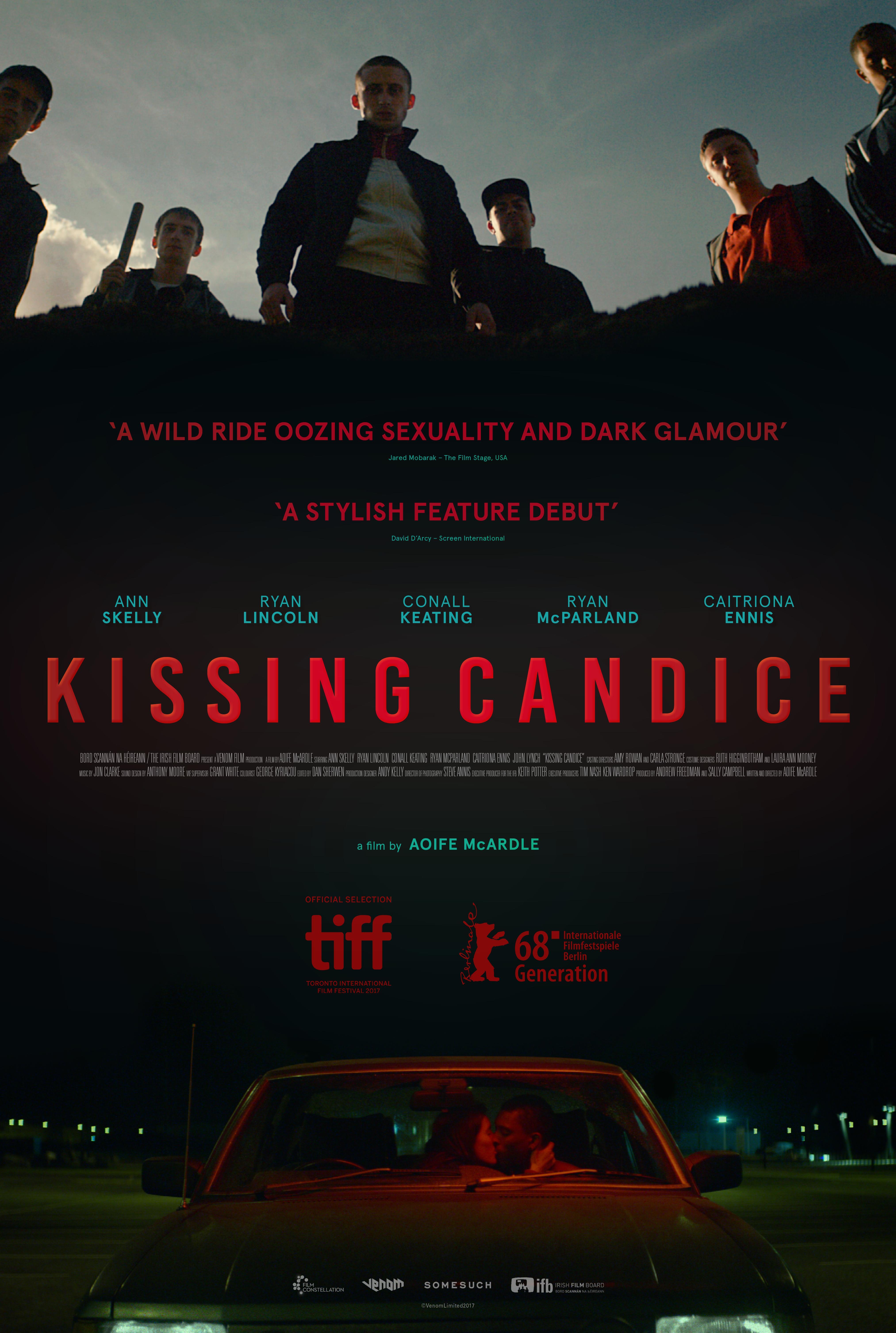Kissing Candice kapak