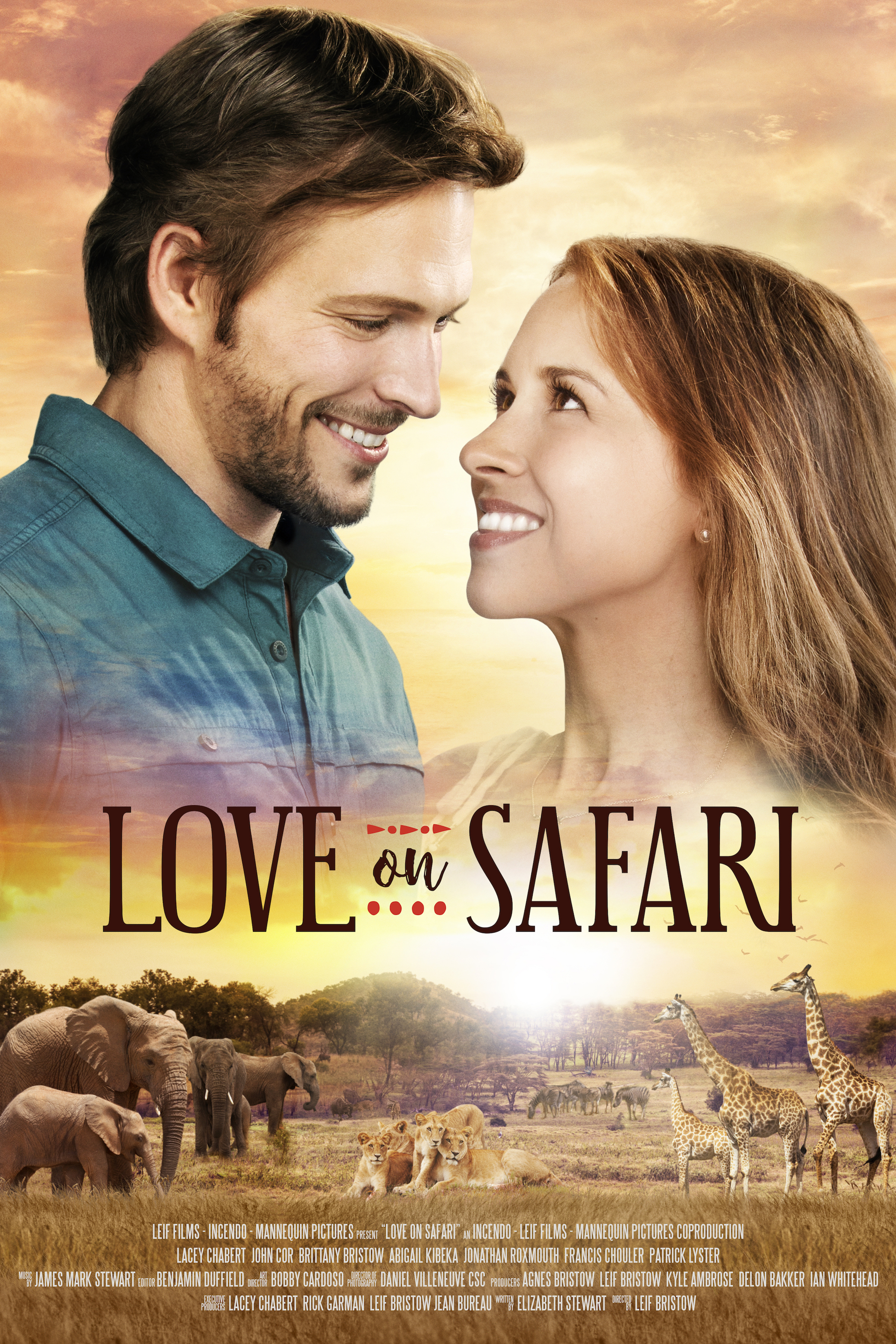 Love on Safari kapak