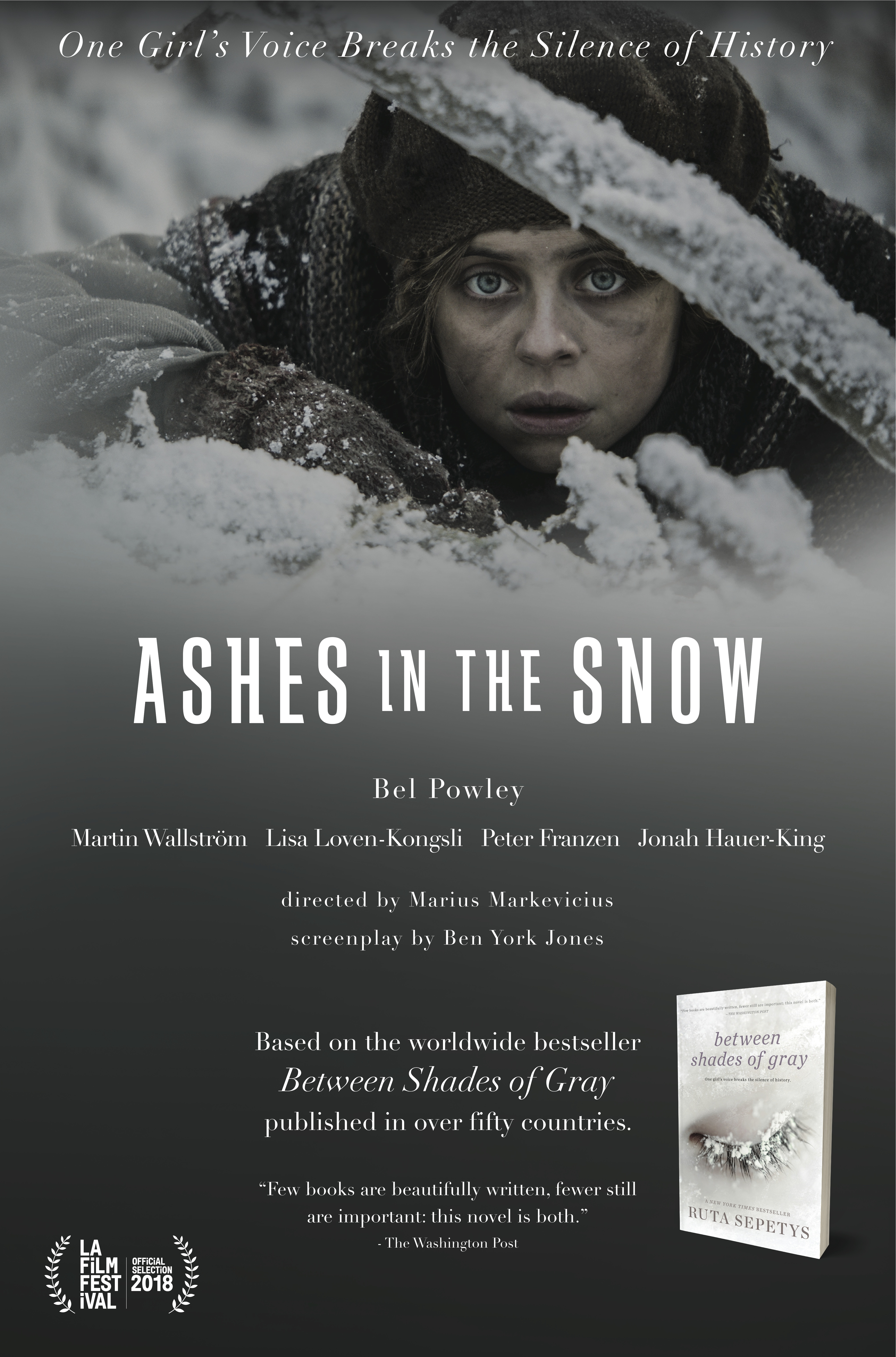 Ashes in the Snow kapak