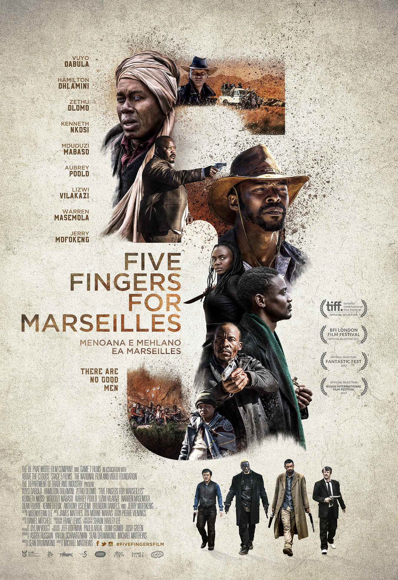Five Fingers for Marseilles kapak