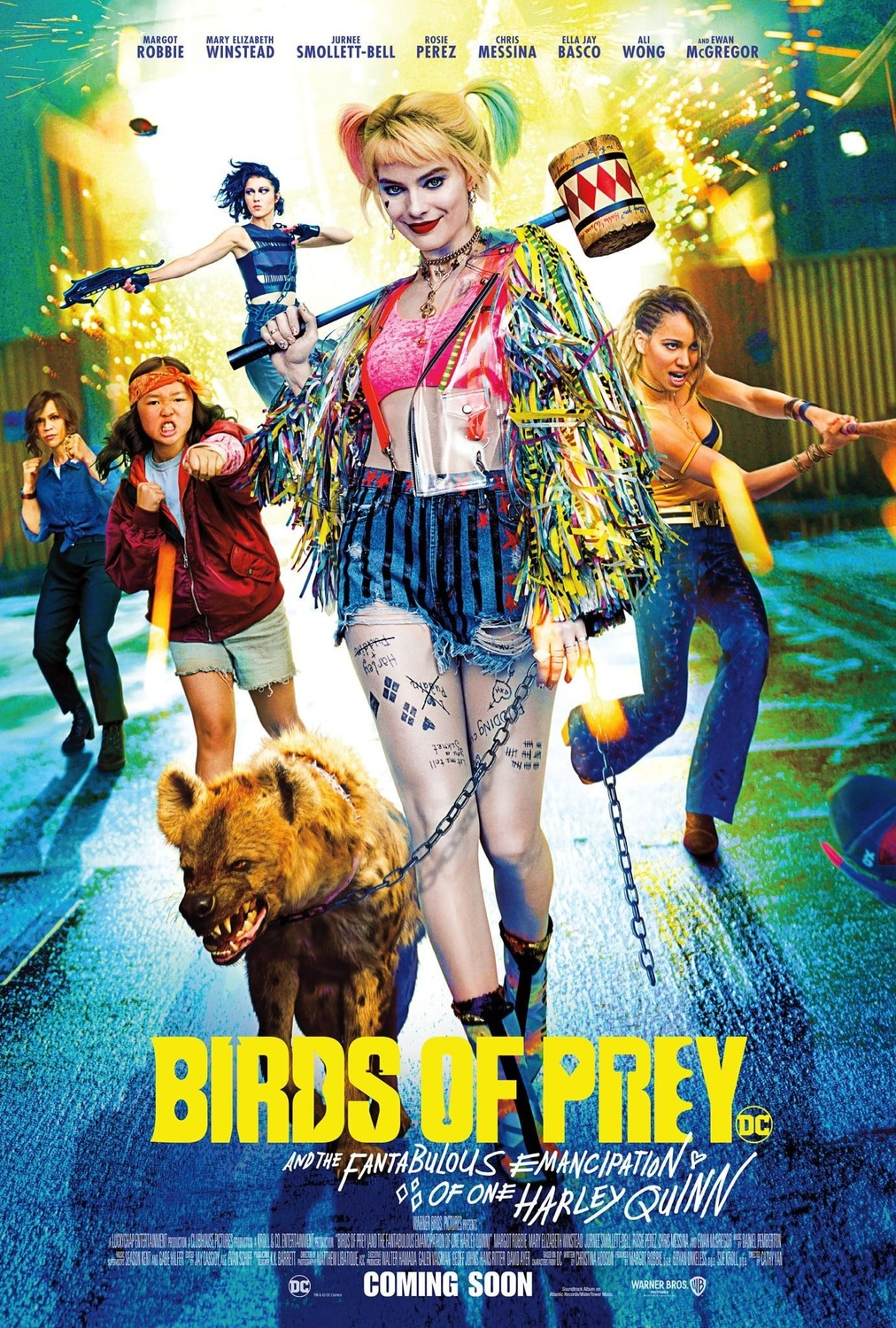 Harley Quinn: Birds of Prey kapak
