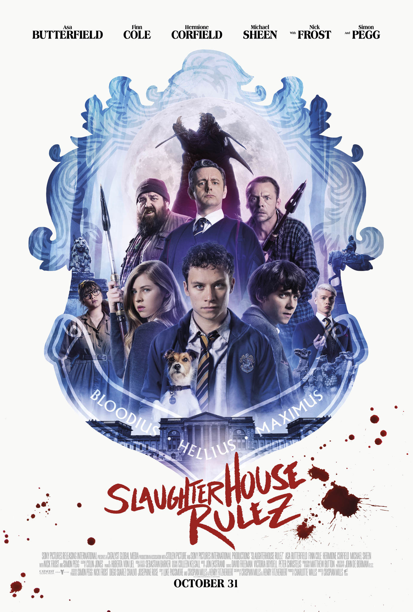Slaughterhouse Rulez kapak