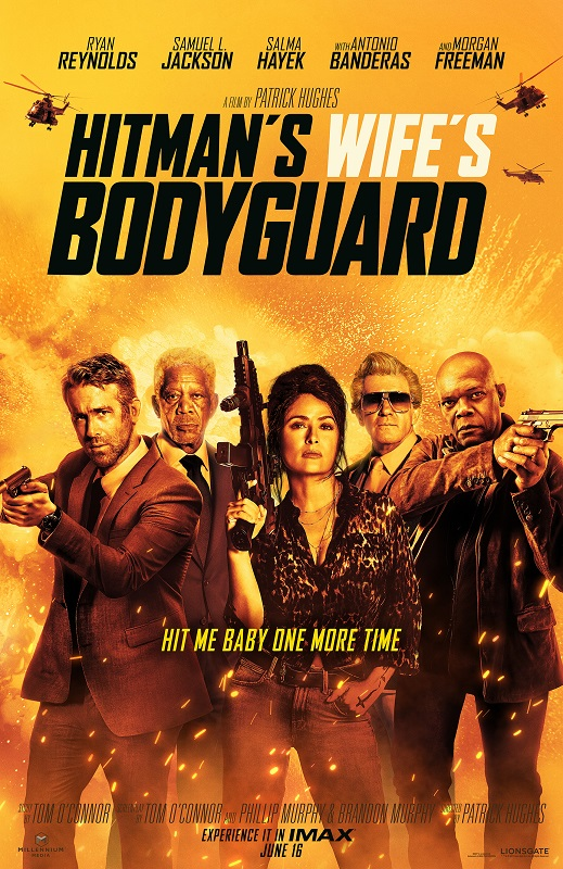 The Hitman's Wife's Bodyguard kapak