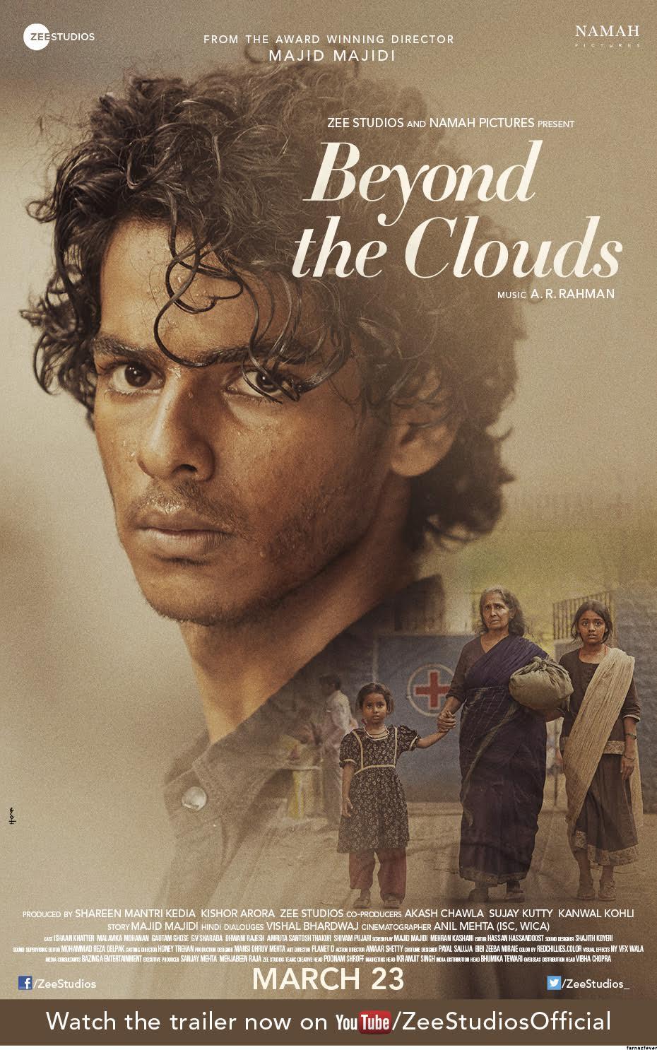 Beyond the Clouds kapak
