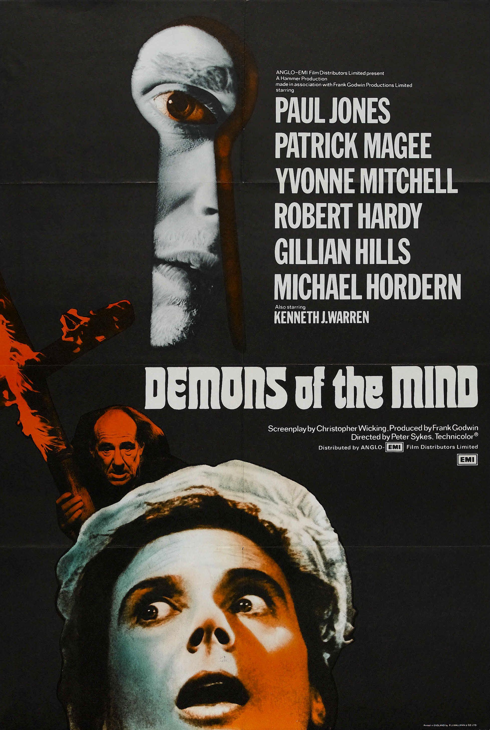 Demons of the Mind kapak