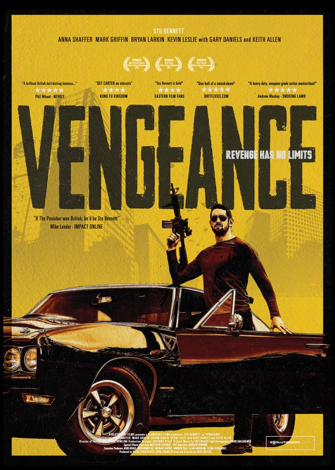 I Am Vengeance kapak