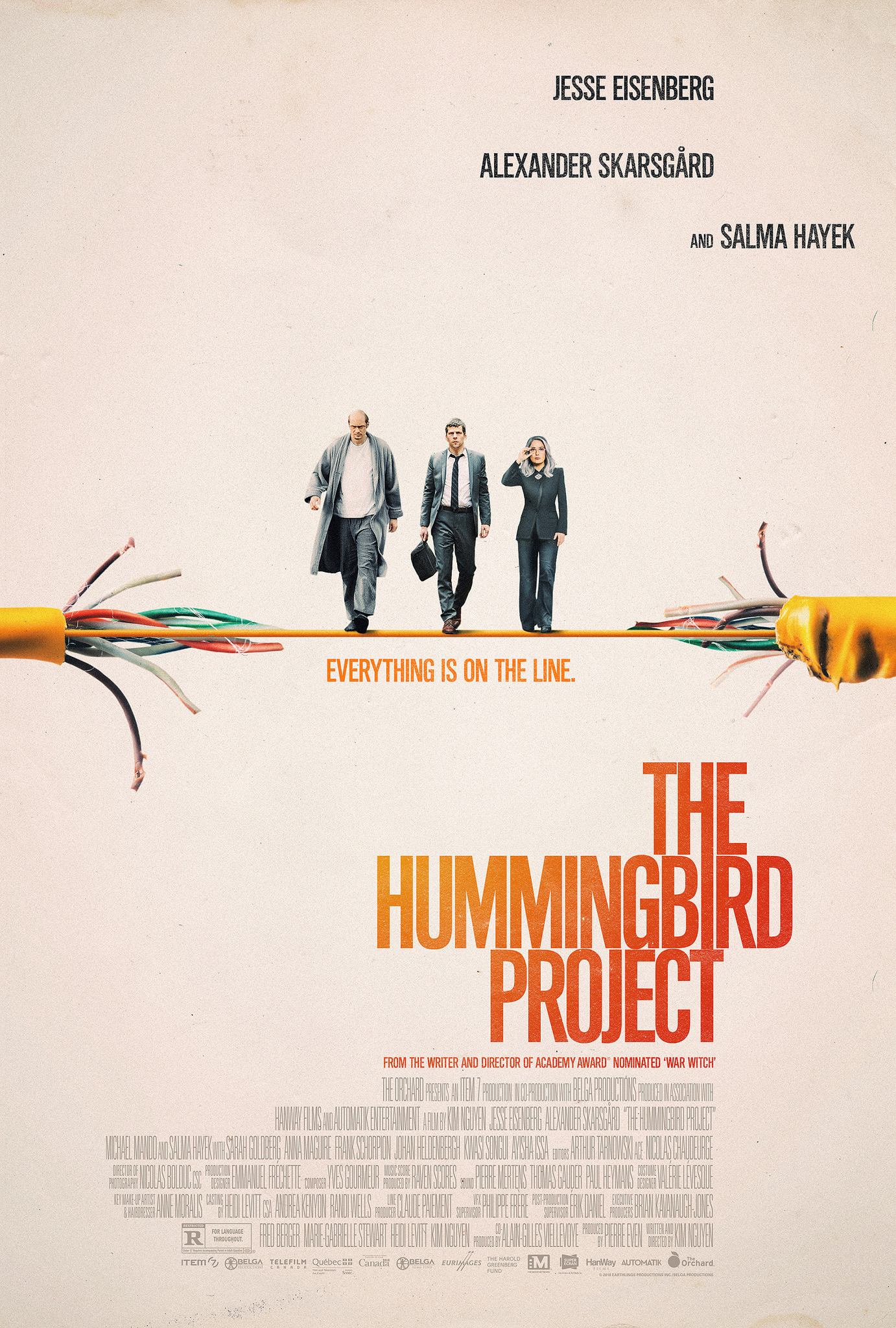 The Hummingbird Project kapak