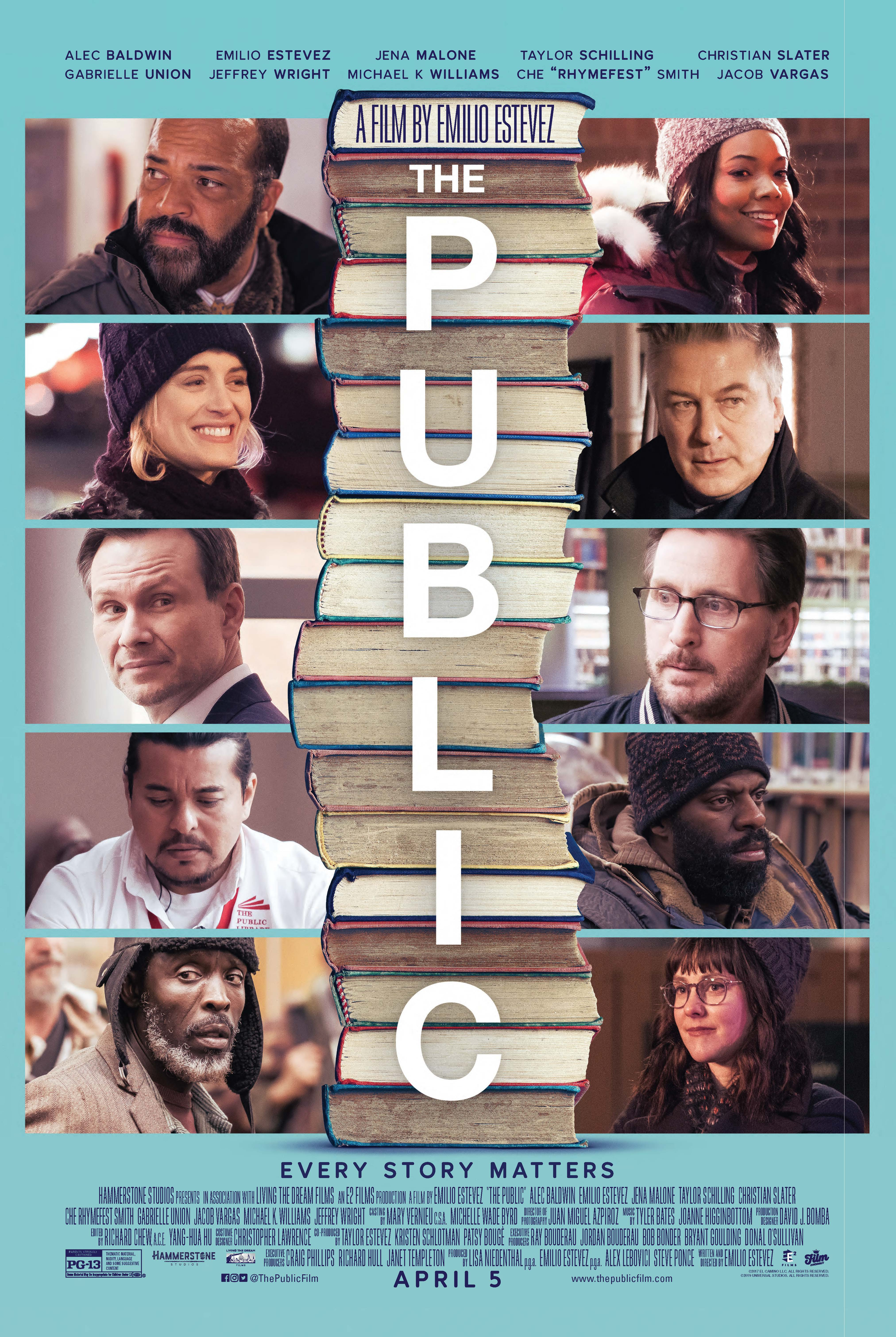 The Public kapak