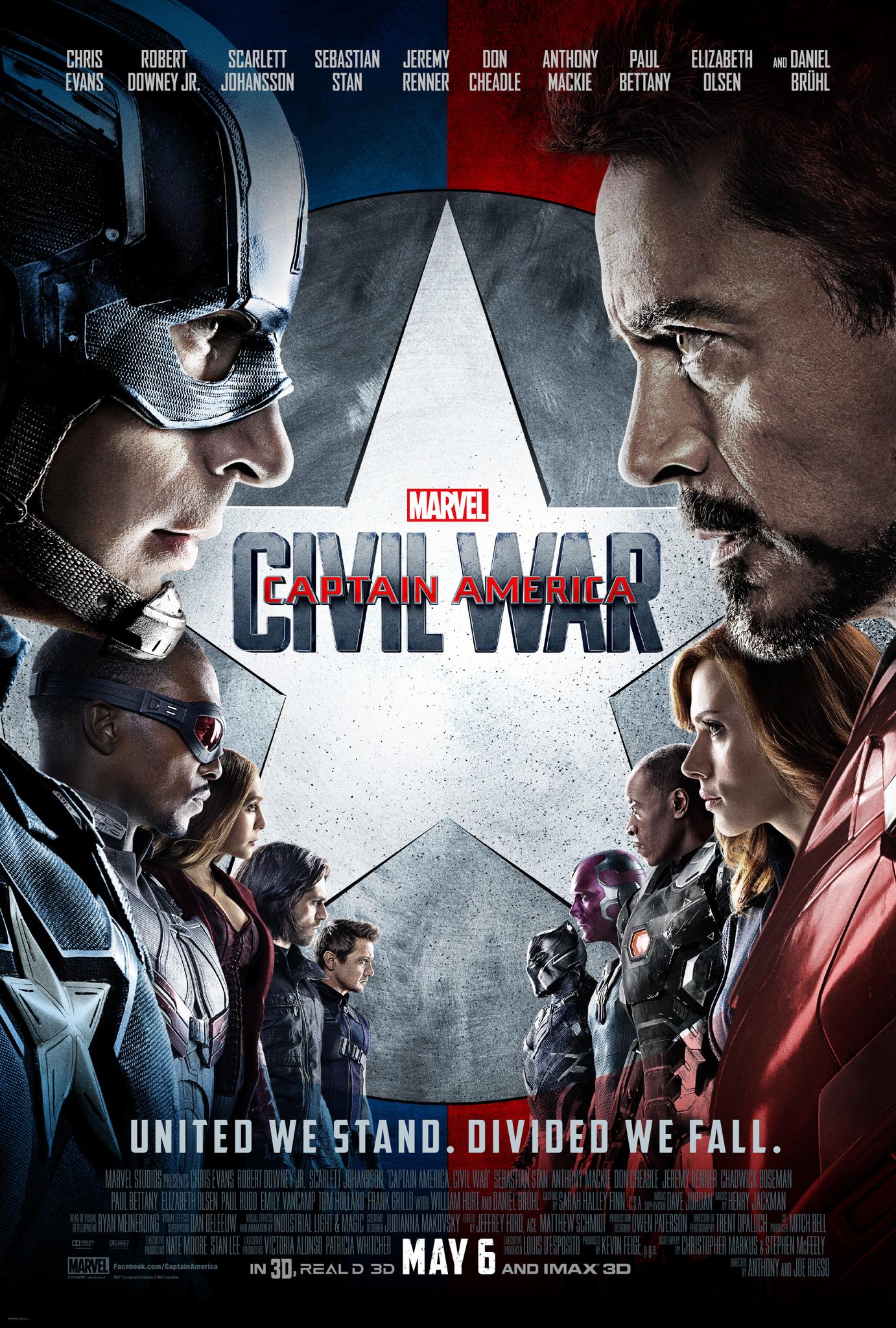 Captain America: Civil War kapak