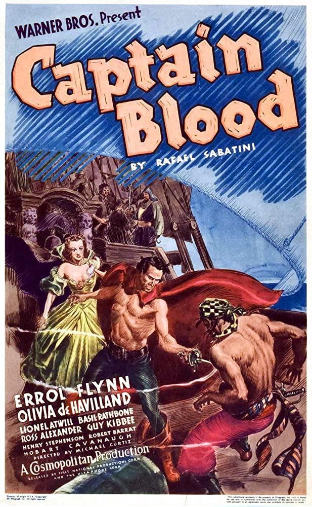 Captain Blood kapak